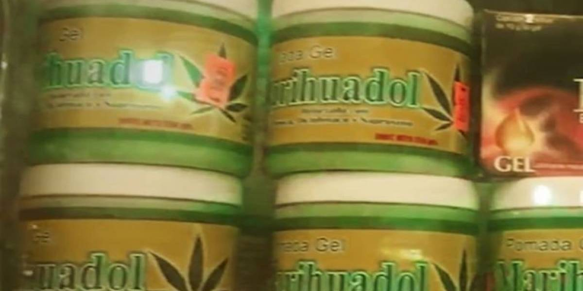 También se incautarán pomadas de marihuana y coca y se pondrán multas a vendedores