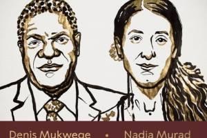 El ginecólogo Denis Mukwege y la activista Nadia Murad ganan Nobel de la Paz 2018