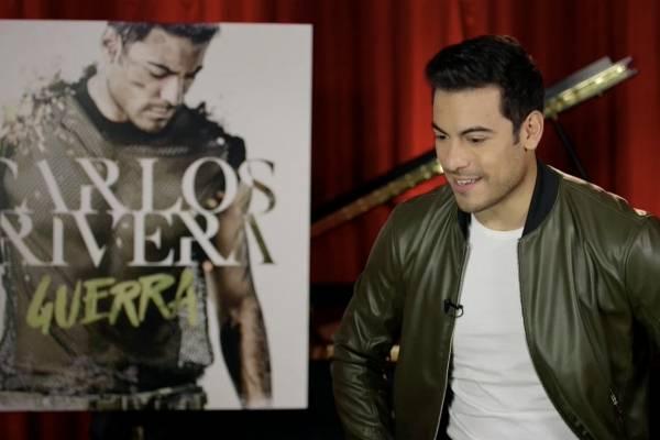"""Carlos Rivera le declara la """"Guerra"""" a la tiranía en su quinto álbum"""