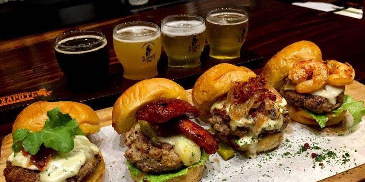 Terraza El Zapote: degusta estas hamburguesas gourmet maridadas con cerveza artesanal