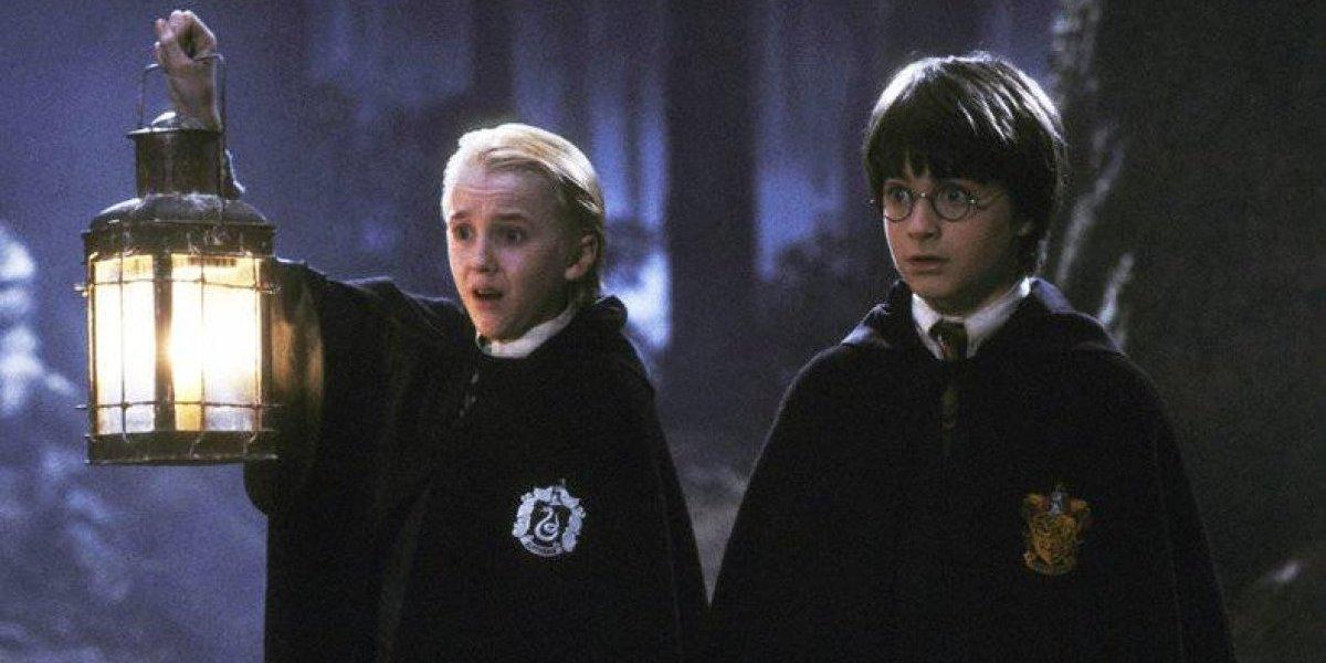 Tom Felton luce irreconocible y desgarbado al reunirse con Daniel Radcliffe