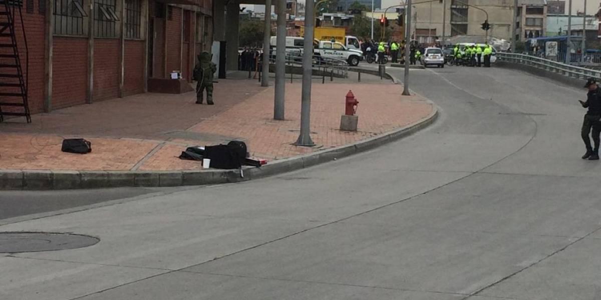Encuentran paquete explosivo sospechoso en la sede del Inpec