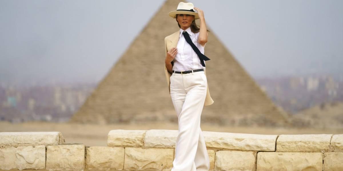 """Melania Trump: """"No siempre estoy de acuerdo con lo que tuitea"""" Donald Trump"""
