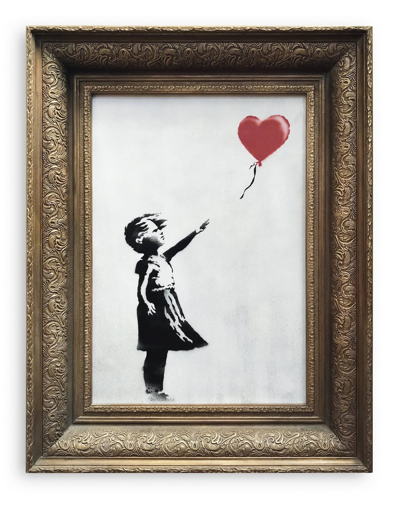 Banksy autodestruye obra al ser subastada por una millonada
