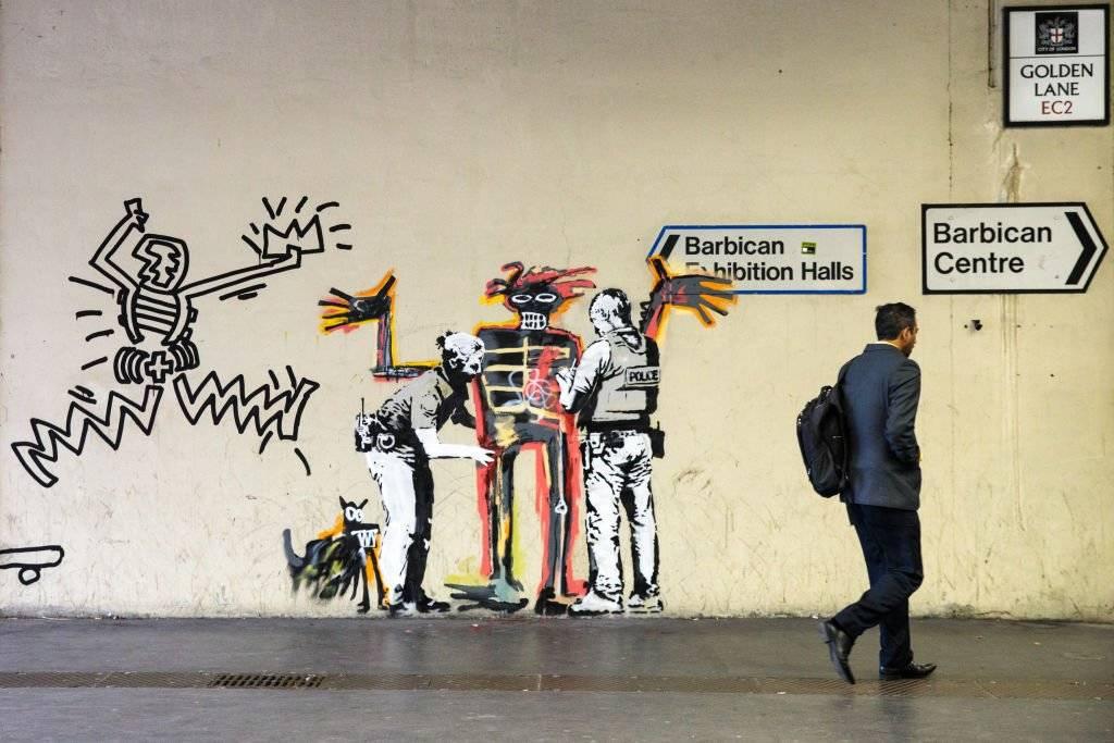 Banksy es el seudónimo de un prolífico artista del street art británico. Foto: Getty Images