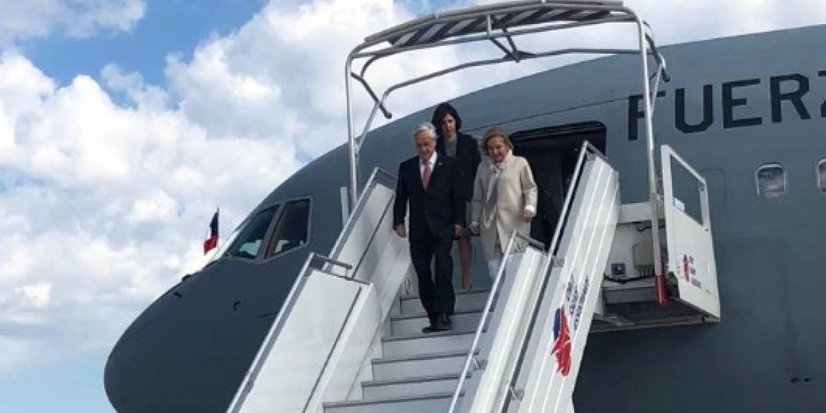 Piñera arriba a Francia e inicia gira presidencial de diez días por Europa