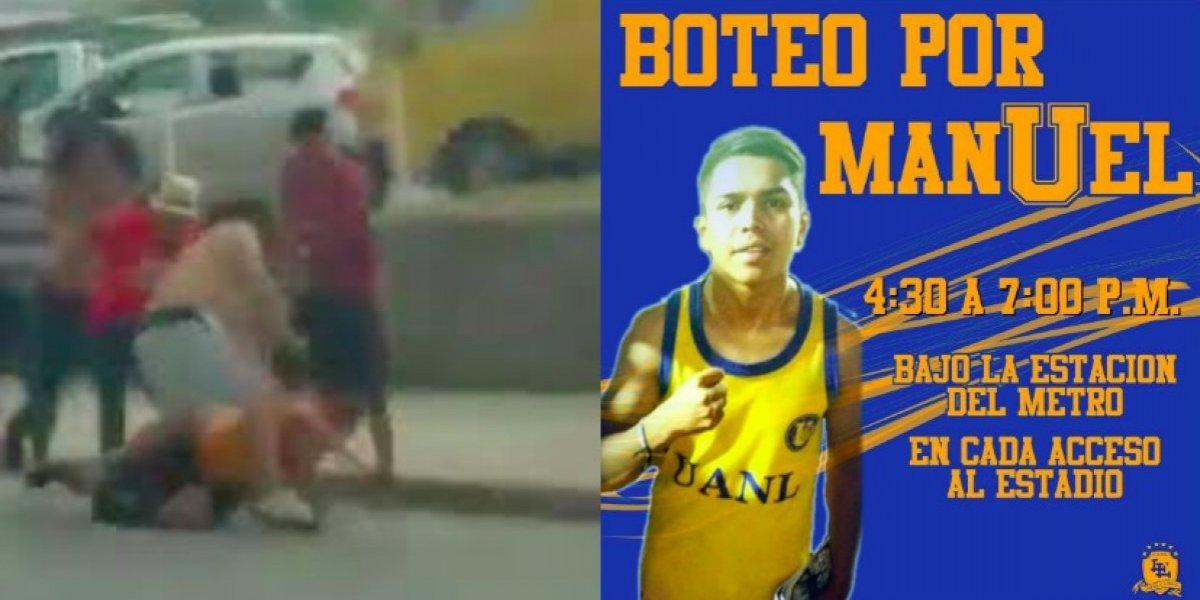 Realizan boteo en 'El Volcán' para ayudar a aficionado golpeado en el Clásico Regio