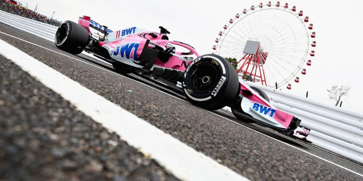 'Checo' Pérez saldrá noveno en GP de Japón; Hamilton gana la 'pole'