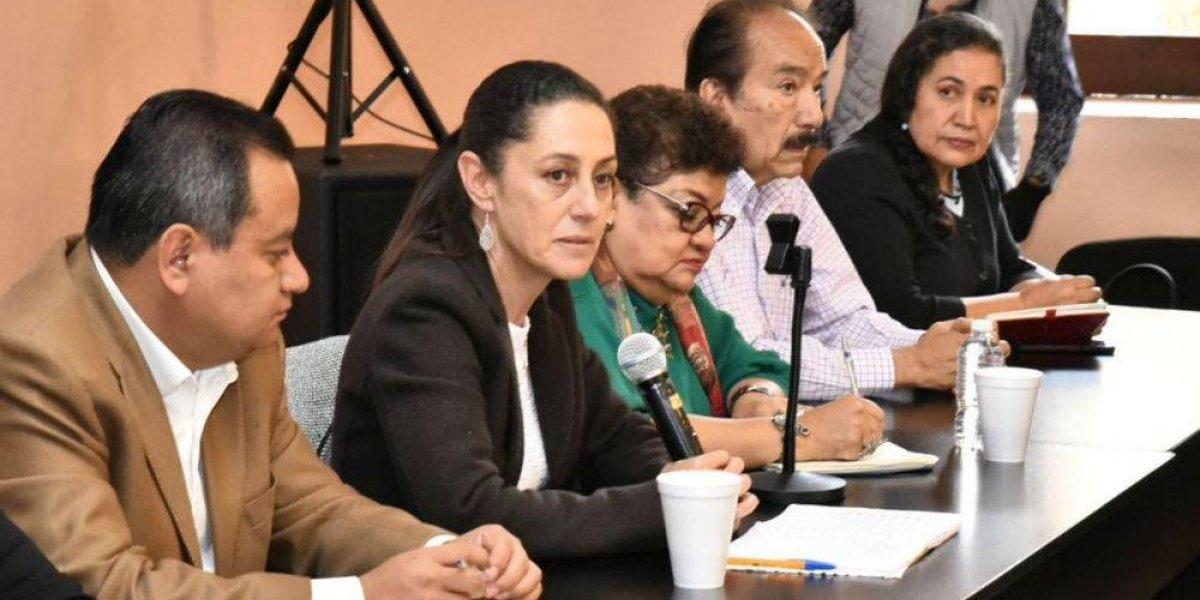 Sheinbaum pide detener autorizaciones para proyectos inmobiliarios
