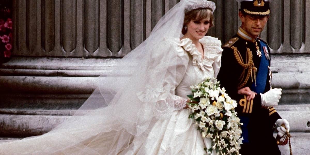 ¡No comía por el estrés! Diana terminó con una cintura de 58 centímetros el día de la boda
