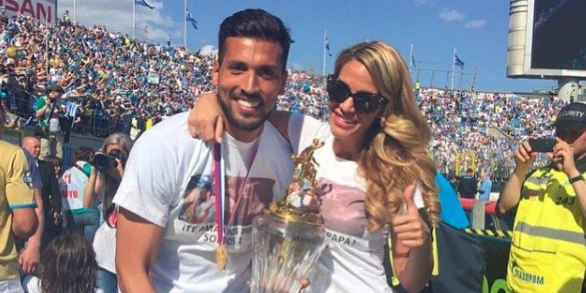 La inesperada reacción del jugador del Valencia al ver el desnudo de su esposa