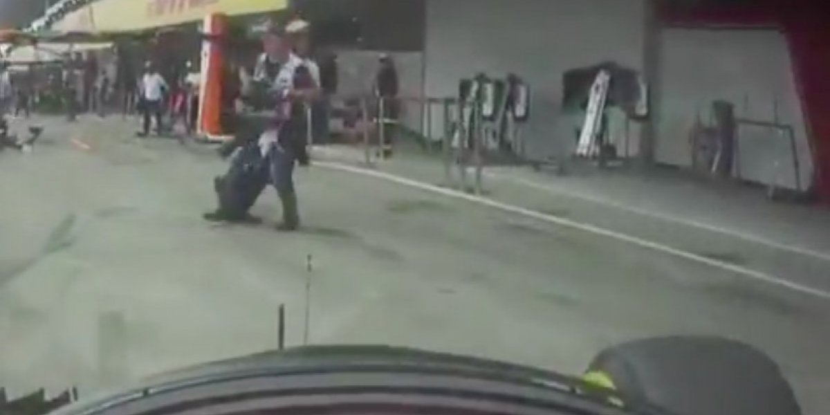 VIDEO: Mecánico de McLaren salva a fotógrafo de ser arrollado por Fernando Alonso