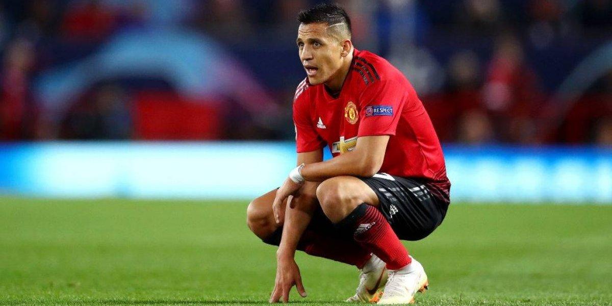 Alexis Sánchez acumula un nuevo difícil capítulo en su paso por Manchester United