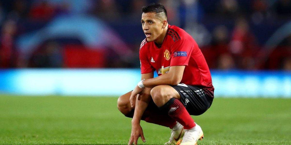 """""""Candidato al peor fichaje de Manchester United"""": Ingleses barren el piso con el lesionado Alexis"""