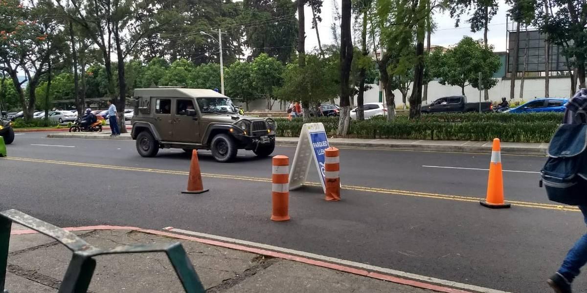Mingob informa sobre uso de vehículos Jeep J8