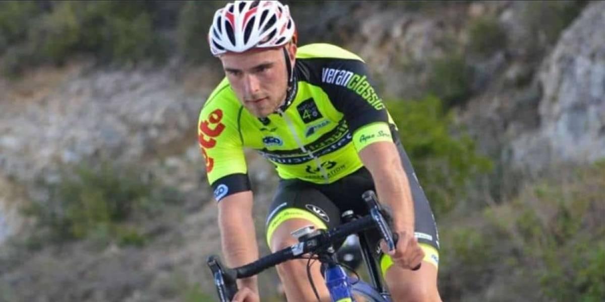 Conmoción en el mundo del deporte por muerte de ciclista de 23 años