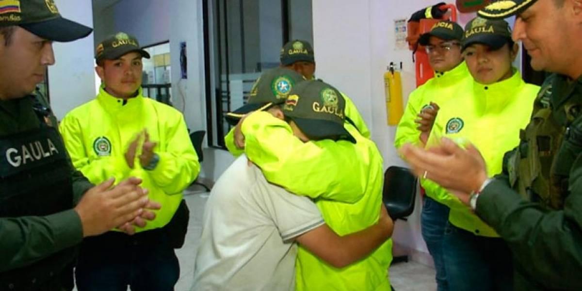 Rescatan a niño que estuvo tres días secuestrado y atado a un árbol en Antioquia