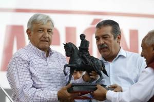 Obrador en Michoacán