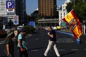 Protestas en Madrid