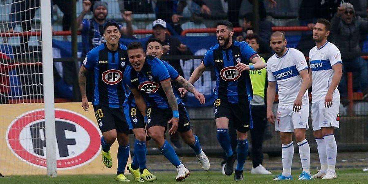 La UC vivió su peor momento de toda la temporada ante un Huachipato que sigue ganando por goleada