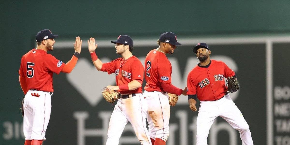 Los Red Soxs pegan primero y derrotan a los Yankees