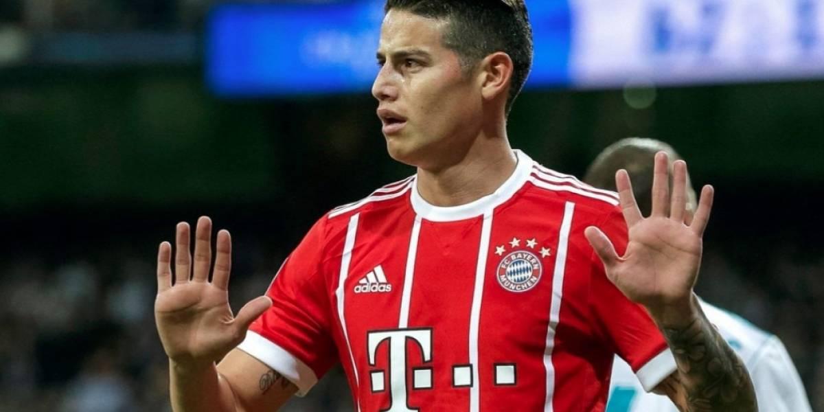 ¡James estalló! El colombiano le lanzó un indirectazo al DT del Bayern