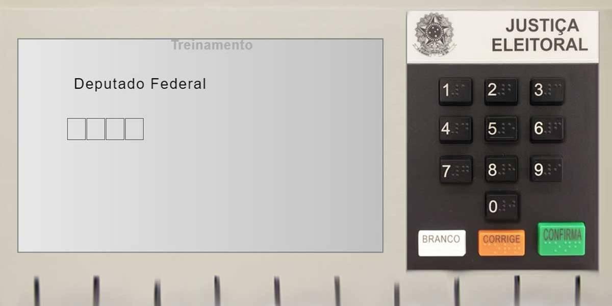 Eleições 2018: simulador ajuda a treinar voto na urna; confira
