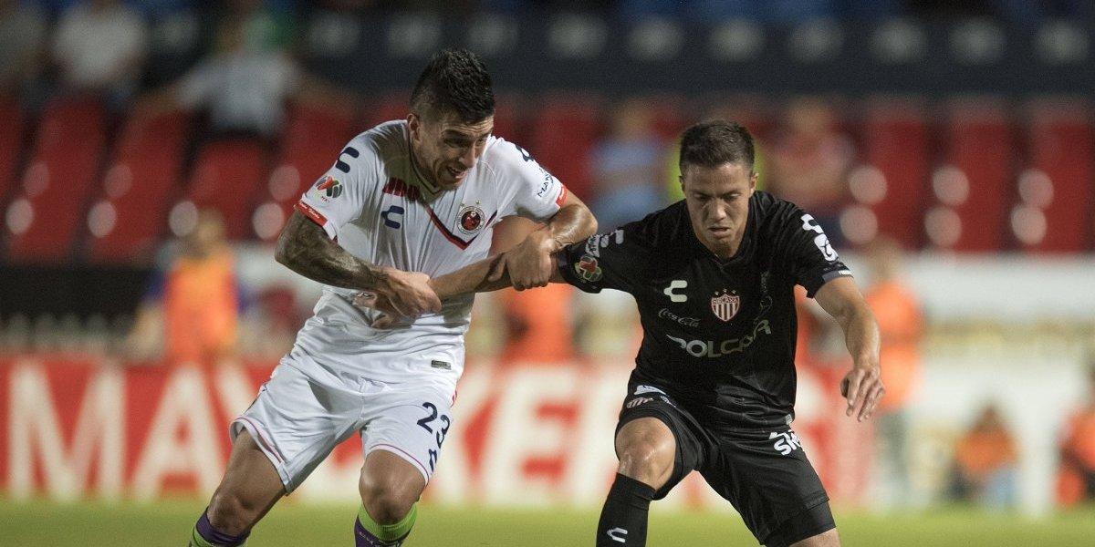 Veracruz y Necaxa reparten puntos luego de ofrecer un aburrido encuentro