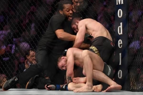 UFC Khabib and McGregor