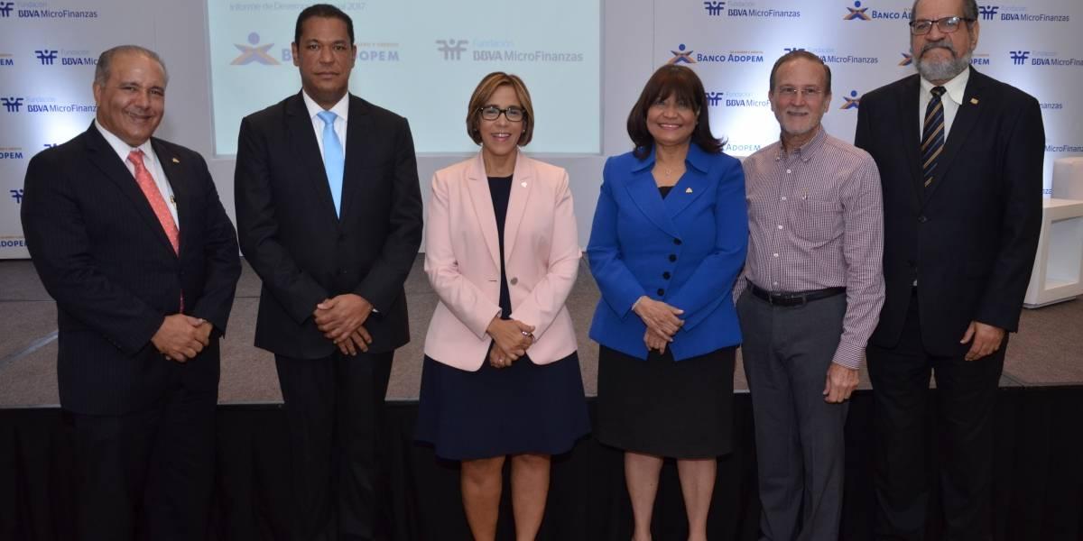 #TeVimosEn: Banco Adopem y Fundación BBVA presentan informe de desempeño social
