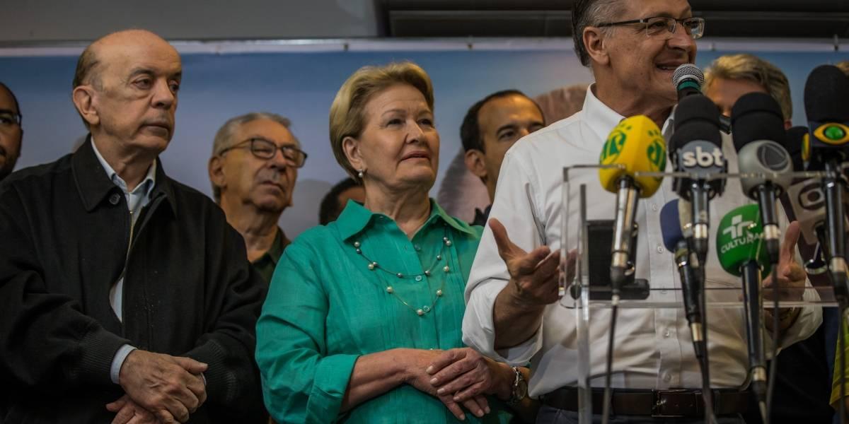 Em discurso, Alckmin prega 'respeito ao resultado das urnas'