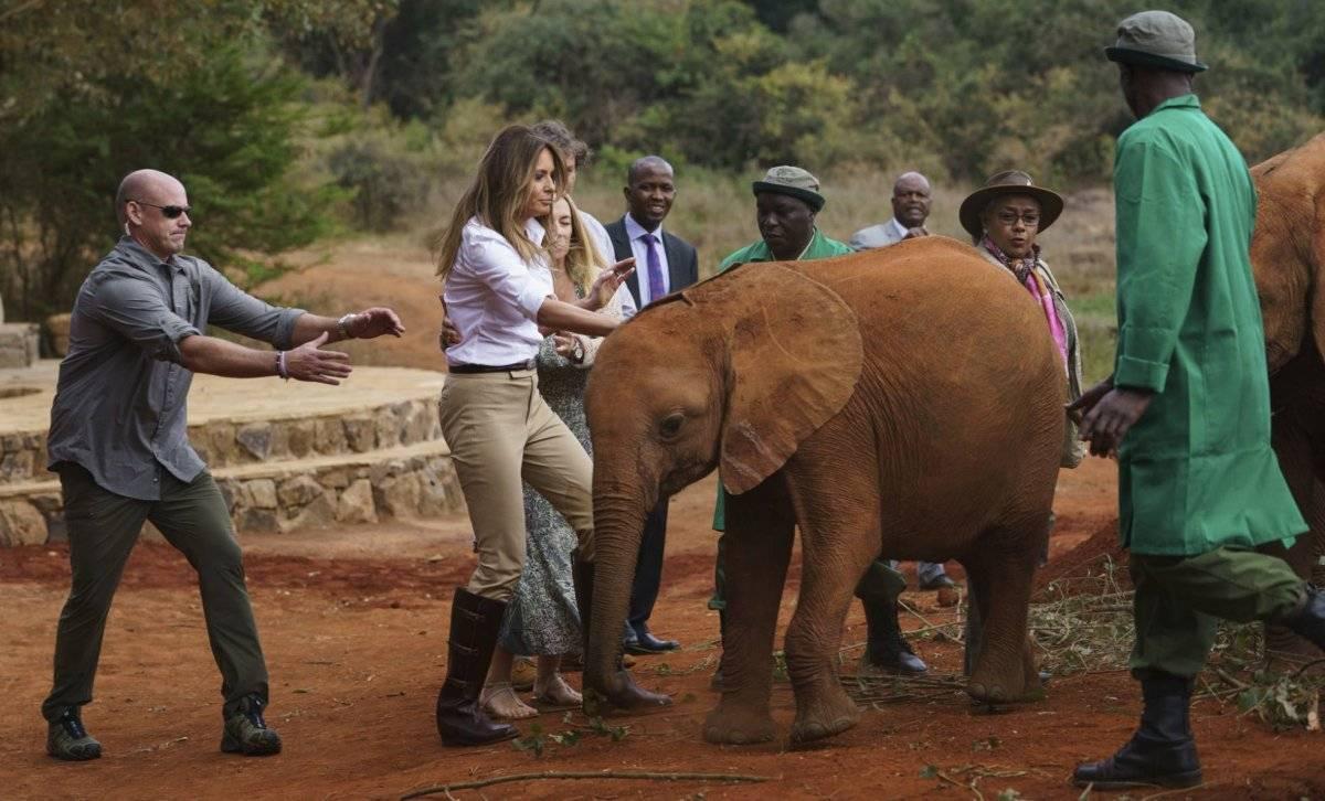 Melania Trump en África