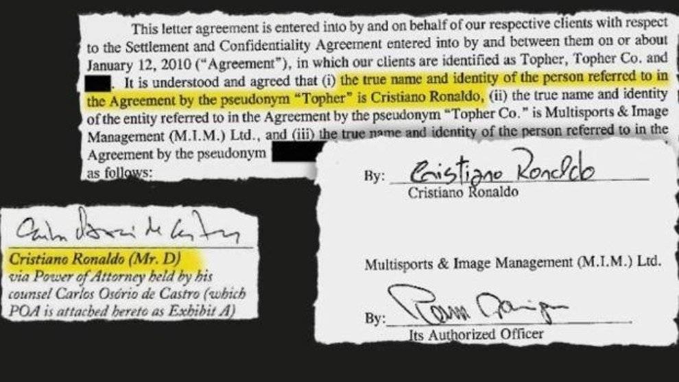 Acuerdo CR7