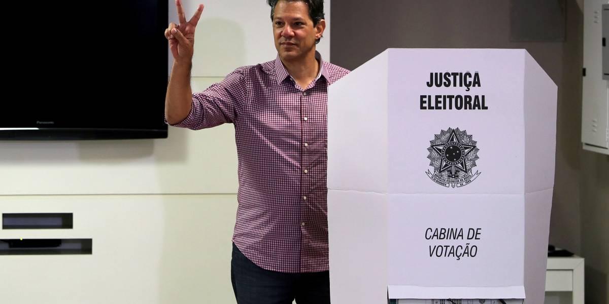 Haddad: 'Tem gente que acha que ganha eleição sem se expor'