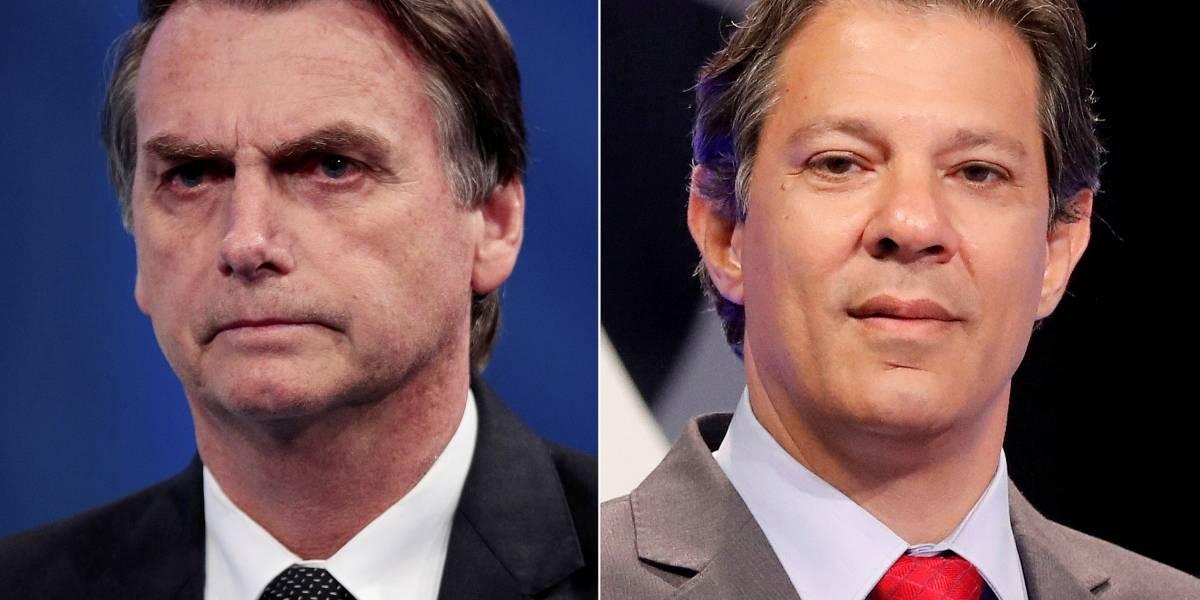 Datafolha: Bolsonaro tem 59%; Haddad, 41%