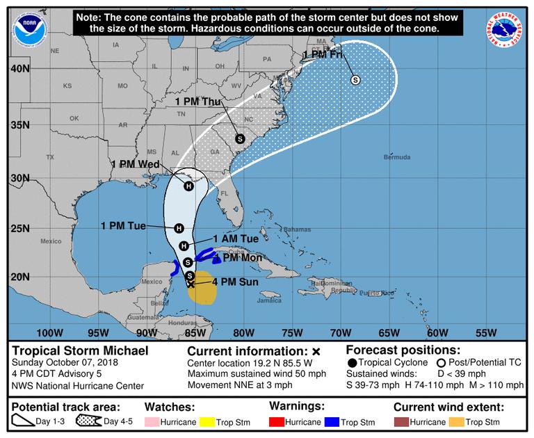 Florida ordena evacuaciones ante la cercanía del huracán Michael | EN VIVO