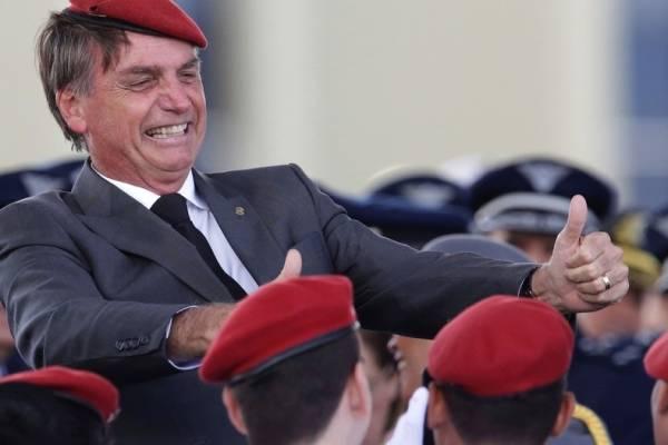 Bolsonaro. AP