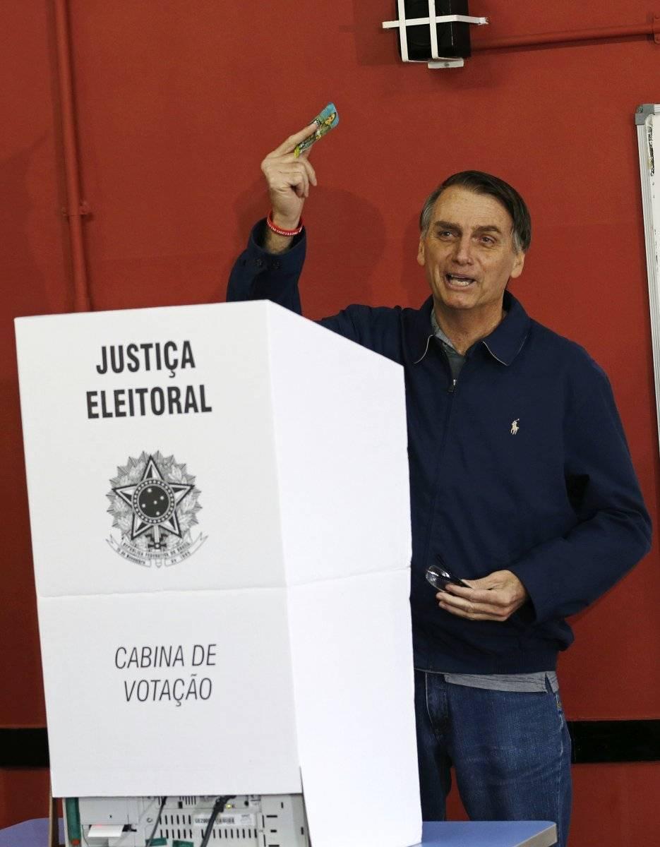 Jair Bolsonaro, candidato presidencial de Brasil