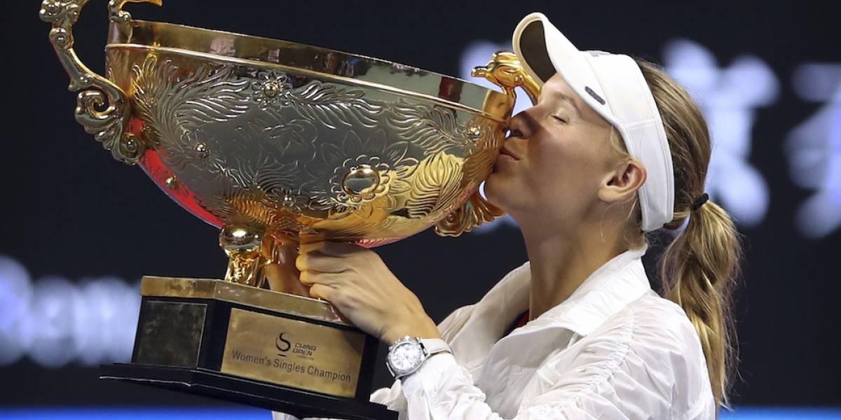 Wozniacki gana por segunda ocasión el Abierto de China