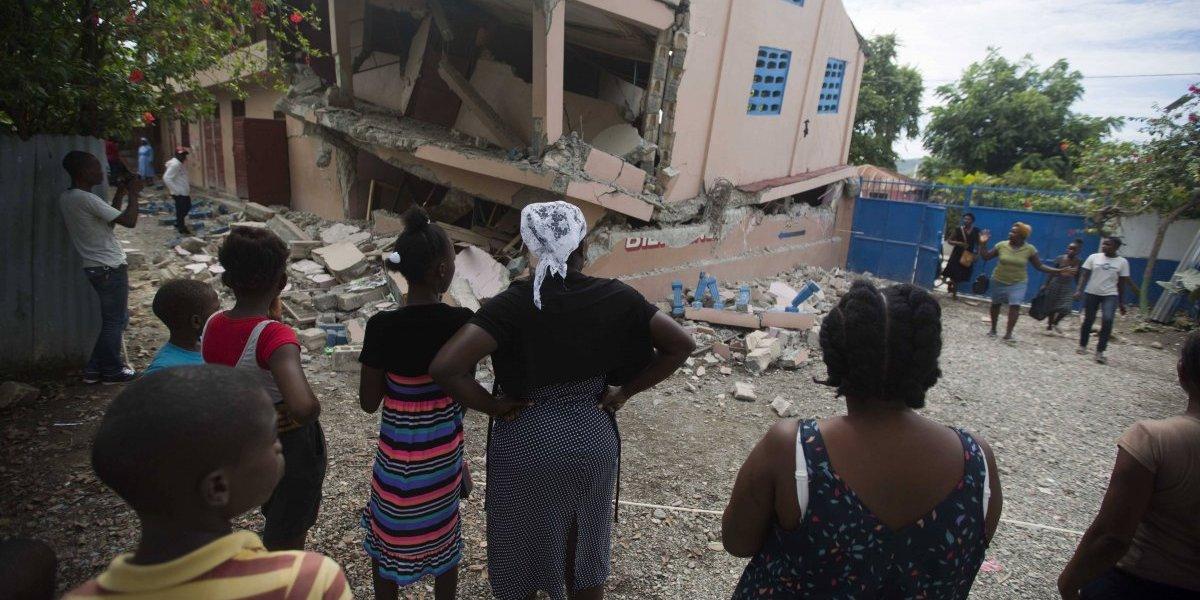 Haití recibe impacto de otro terremoto en menos de 24 horas