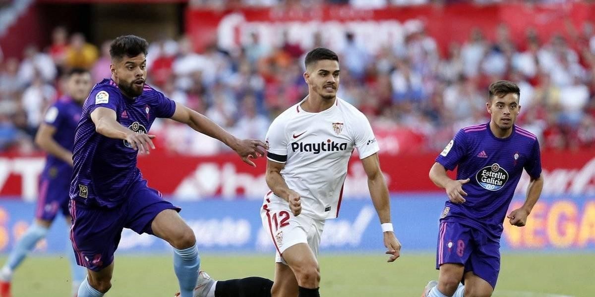 Néstor Araujo sale expulsado y propicia la victoria del Sevilla