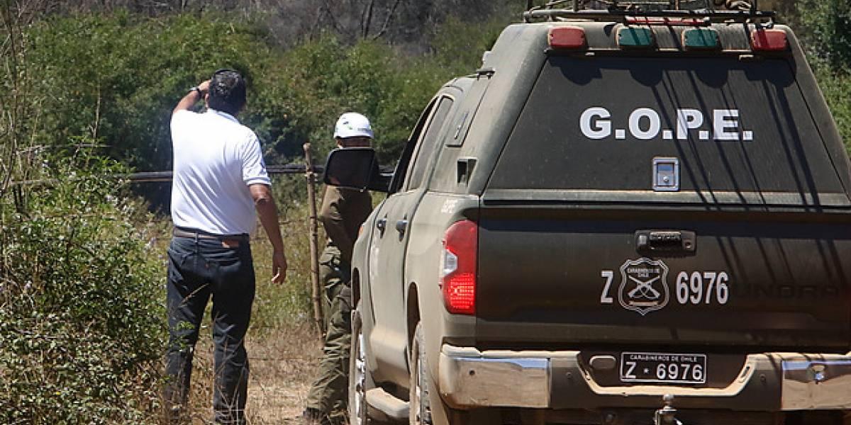 La Araucanía: atacan con armas de fuego a patrulla de Carabineros en Ercilla
