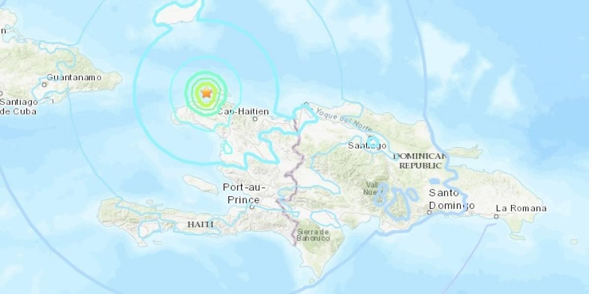 Fuerte sismo remece a Haití: temblor de 5,9  al menos once muertos y decenas de heridos