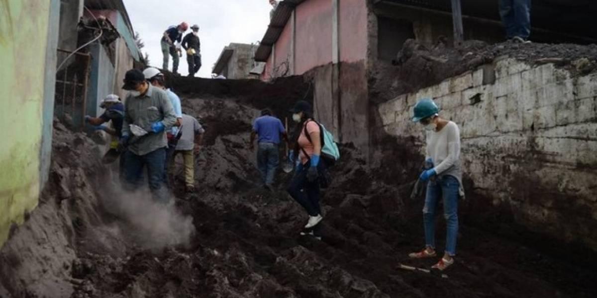 Aumenta el número de personas fallecidas por erupción del volcán de Fuego