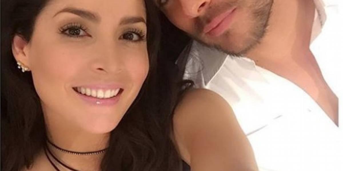 Carmen Villalobos publicó sensual video bailando con su novio frente al espejo