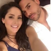 Carmen Villalobos publica video de ella y su novio bailando frente al espejo