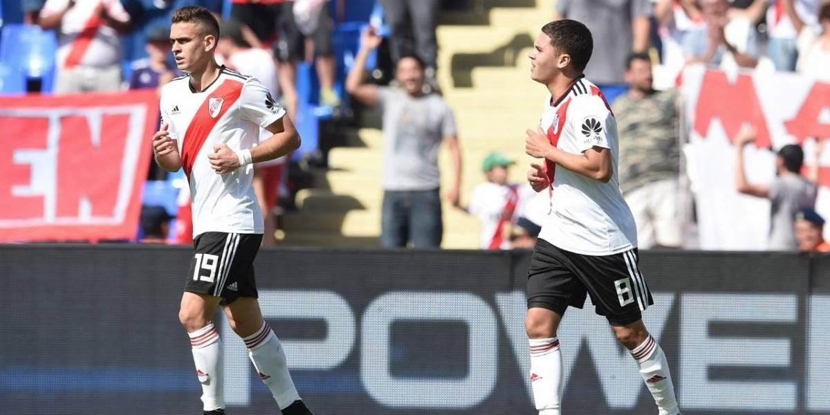 ¡La 'Pulga' Quintero! El gol a lo Messi de Juanfer para que gane River