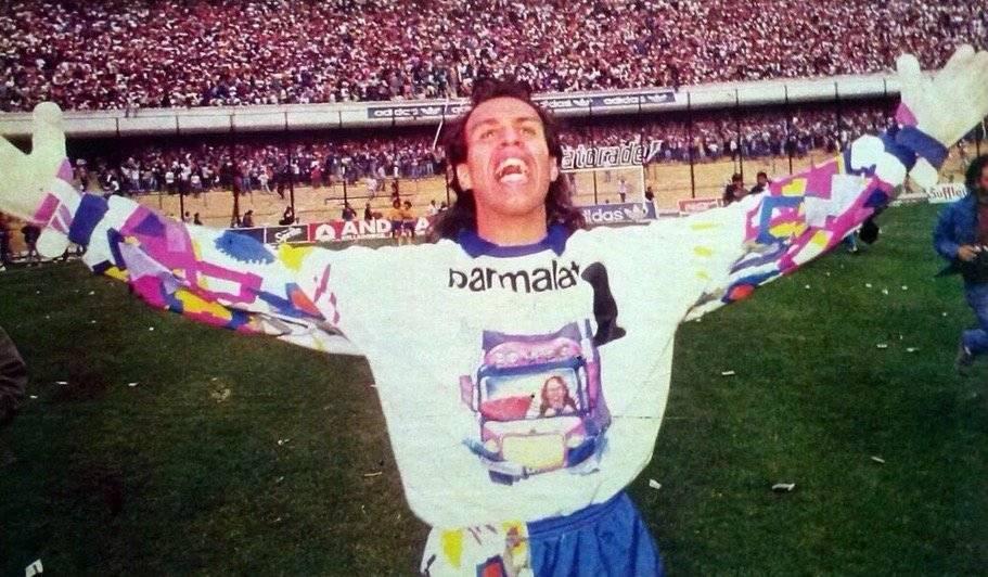 El Mono Navarro Montoya es uno de los mayores ídolos en la historia de Boca Juniors / Foto: Twitter