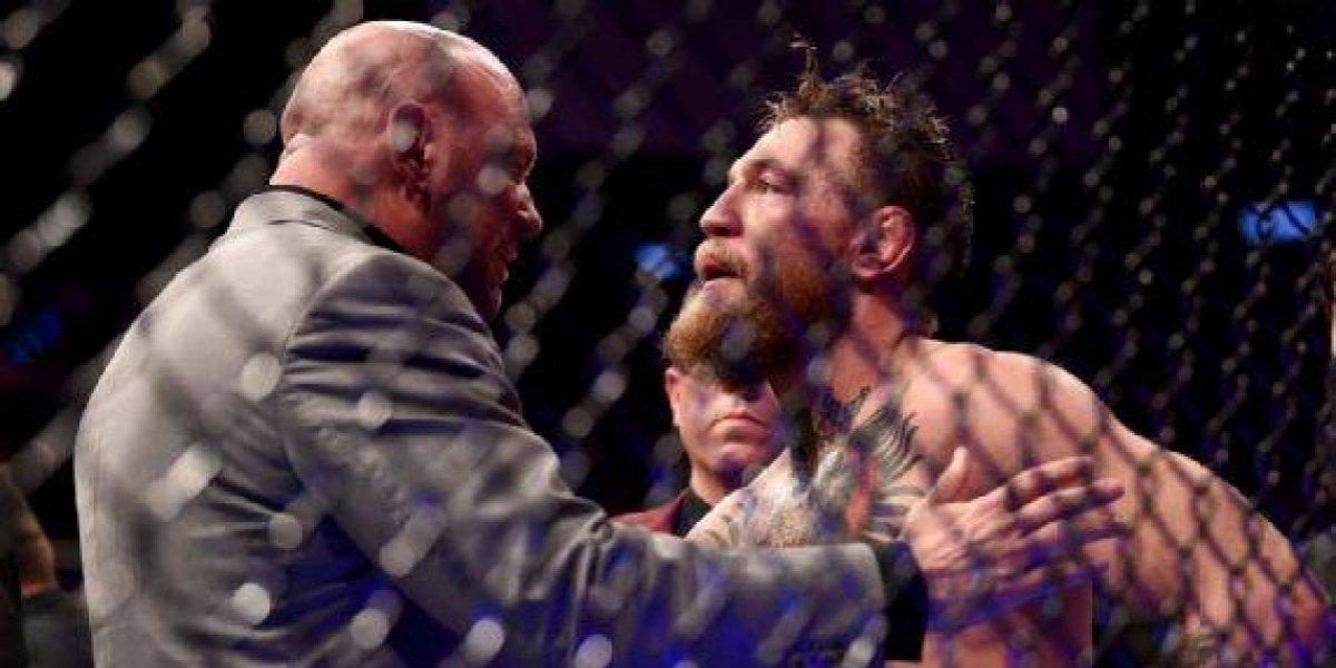 Khabib podría perder el título luego de empezar la trifulca al final de UFC 229