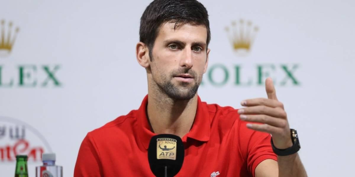 """Novak Djokovic: """"Quiero darme el chance de terminar el año número 1"""""""